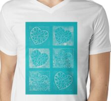 Six of Hearts - Passion Play Mens V-Neck T-Shirt