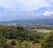 Panoramic Sequatchie Valley by LarryB007