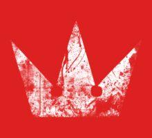 Kingdom Hearts Crown grunge One Piece - Short Sleeve