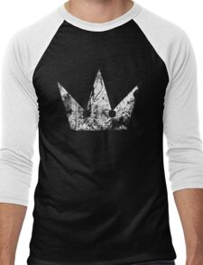 Kingdom Hearts Crown grunge Men's Baseball ¾ T-Shirt