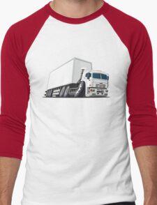 Cartoon cargo truck Men's Baseball ¾ T-Shirt