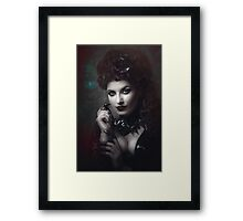 Goth Queen III Framed Print
