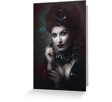 Goth Queen III Greeting Card