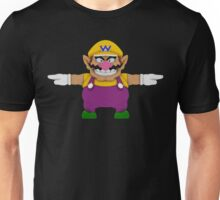Wario sprite Unisex T-Shirt
