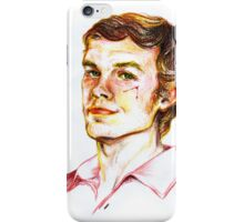 Dexter Morgan Portrait iPhone Case/Skin