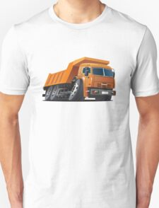 Cartoon Dump Truck Unisex T-Shirt