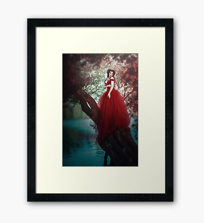Crimson Queen Framed Print