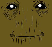 Groot face by absolemstudio