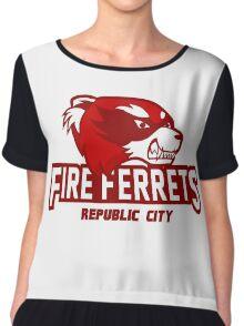 Republic City Fire Ferrets Chiffon Top