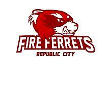 Republic City Fire Ferrets Photographic Print