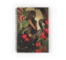 Lady in the Looking Glass Spiral Notebook