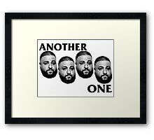 Another One - DJ Black Flag Framed Print