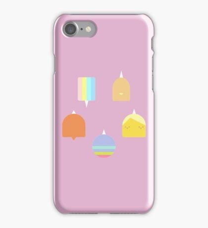 Minimalist Rainicorn Pups - Adventure Time iPhone Case/Skin