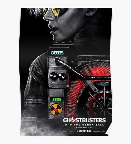 Jillian Holtzmann Ghostbusters (2016) Poster