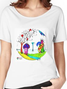 Spillage Women's Relaxed Fit T-Shirt
