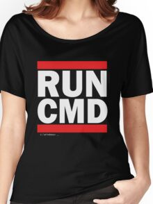 RUN CMD Women's Relaxed Fit T-Shirt