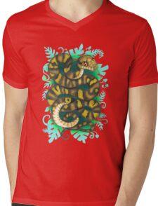 Scrub Python Mens V-Neck T-Shirt
