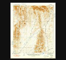 USGS TOPO Map Arizona AZ Red Hill 314951 1939 62500 Unisex T-Shirt