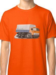 Cartoon Cargo Truck Classic T-Shirt