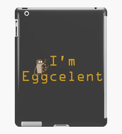 Regular Show Rigby Eggcelent iPad Case/Skin