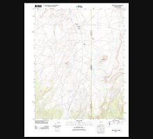 USGS TOPO Map Arizona AZ Red Valley 20111205 TM Unisex T-Shirt