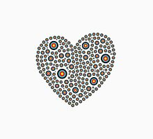Heart made of targets Women's Fitted Scoop T-Shirt