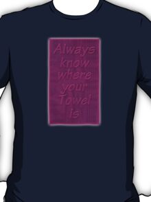 Hitchhiker's Towel T-Shirt
