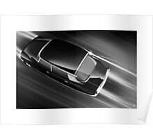 "Poster artwork - Citroen DS  ""DS at Speed""  Poster"