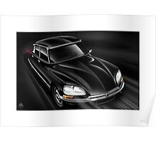 Poster artwork - Citroen DS 23EFI Pallas  Poster