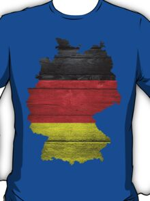 Germany Flag Map T-Shirt