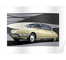 Poster artwork - Citroen DS19 Poster