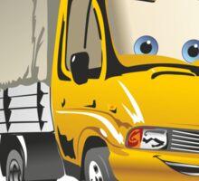 Cartoon delivery / cargo truck Sticker