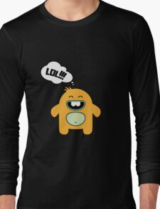 Cartoon monsters in a flat style.  LOL Long Sleeve T-Shirt