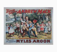 Performing Arts Posters The singing comedian Andrew Mack in the greatest of Irish plays Myles Aroon 0734 Kids Tee