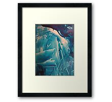 'Jagged' but ready for the challenge Framed Print
