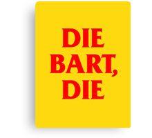 Die Bart, Die – Sideshow Bob Tattoo Canvas Print