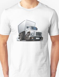 Cartoon delivery / cargo truck Unisex T-Shirt