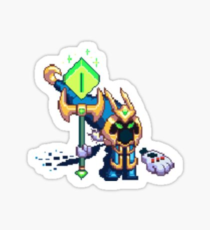 Veigar in Pixel Sticker