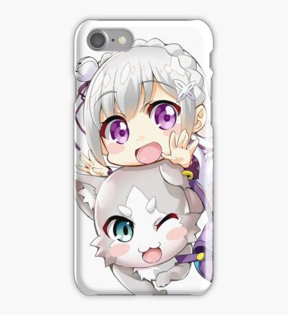 Re: Zero - Puck & Emilia iPhone Case/Skin