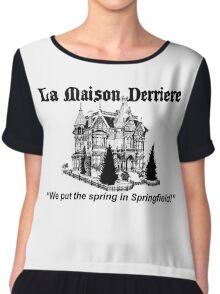 La Maison Derriere – Bart After Dark, Simpsons Chiffon Top