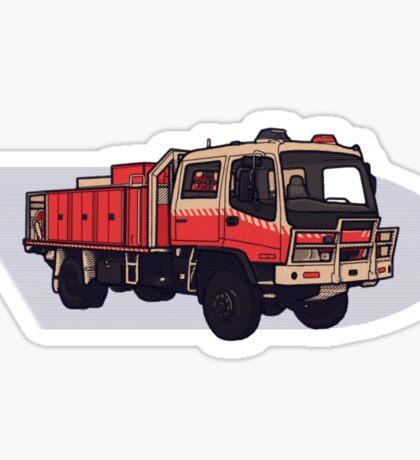 NSW Rural Fire Service Cat1 firetruck Sticker
