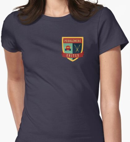 Puddlemere United Womens Fitted T-Shirt