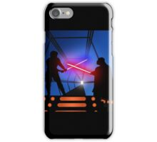 Luke vs Vader on Bespin iPhone Case/Skin