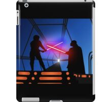 Luke vs Vader on Bespin iPad Case/Skin