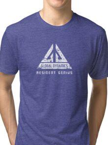 Eureka-Resident Genius Grunge Tri-blend T-Shirt