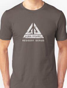 Eureka-Resident Genius Grunge Unisex T-Shirt