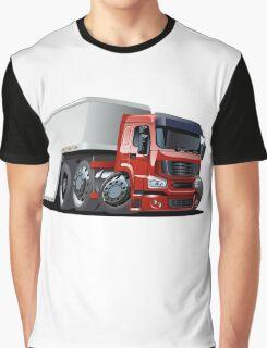 Cartoon cargo semi-truck Graphic T-Shirt