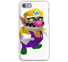 Wario sprite iPhone Case/Skin
