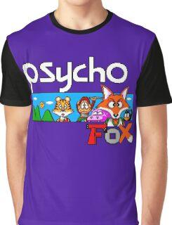 PSYCHO FOX - SEGA MASTER SYSTEM Graphic T-Shirt