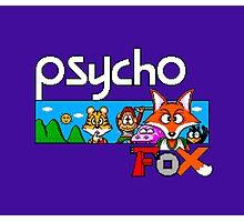 PSYCHO FOX - SEGA MASTER SYSTEM Photographic Print